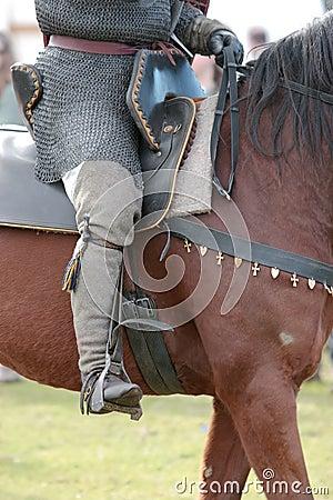 Warrior Astride a Horse