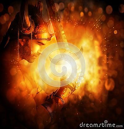 Free Warrior Of Light Stock Photo - 27673390