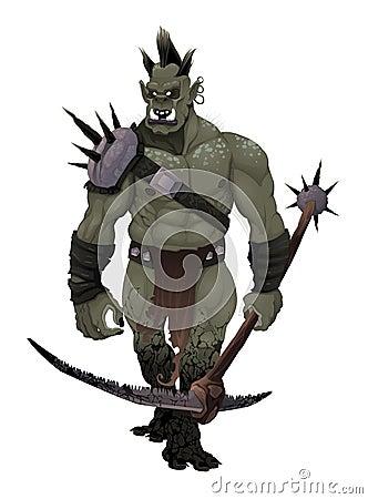 Warrior ogre.