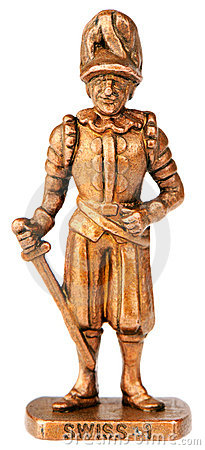 Warrior with sword statuette