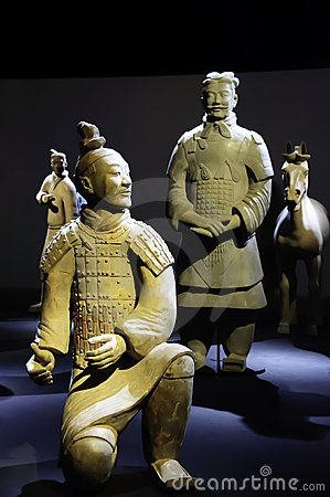 Warrior of the terracotta army chinese