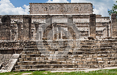 Warriors Temple Chichen Itza Mexico