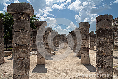Warriors Temple Chichen Itza Mexico