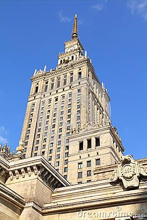 Warsaw Editorial Stock Photo