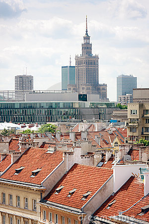Warsaw buildings