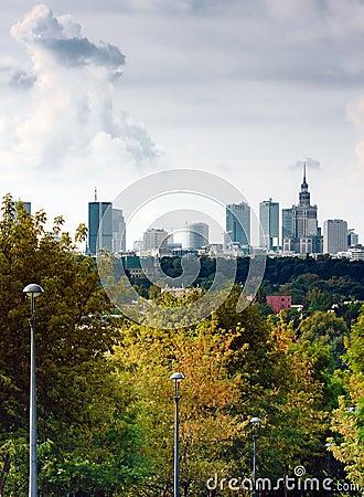 Free Warsaw, Capital Of Poland Stock Photo - 11079460