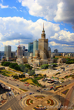 Warsaw City Editorial Image