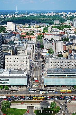 Free Warsaw City Royalty Free Stock Image - 7314456