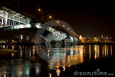 Warsaw Nights Bridge