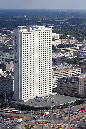 Warsaw - Novotel Editorial Photo