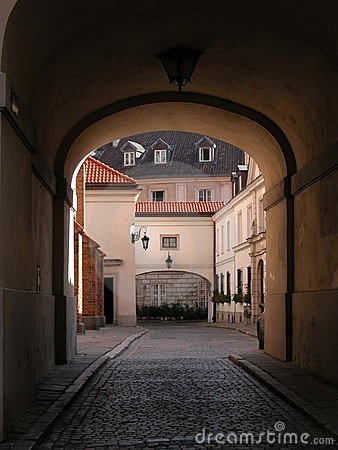 Warsaw - Old City - Gateway
