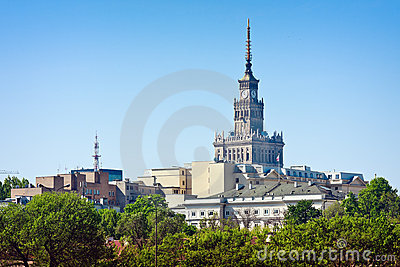 Warsaw, Palace of Culture