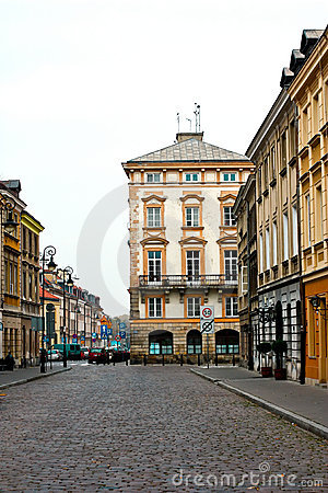 Warsaw, Poland.  UNESCO World Heritage Site.