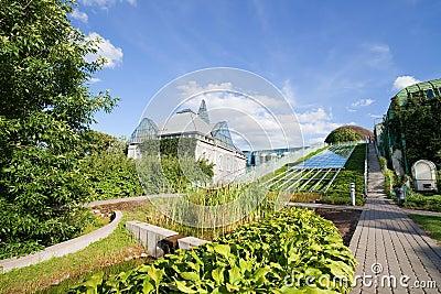 Warsaw University Library Garden