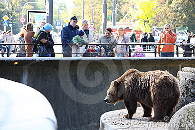 Warsaw Zoo Editorial Stock Image