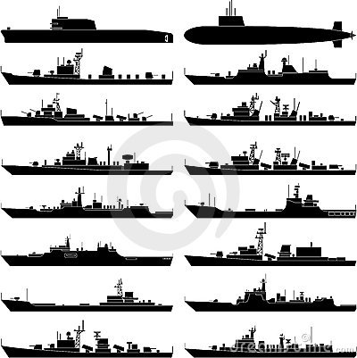 Free Warship Stock Photography - 18850402
