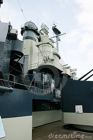 Warship superstructure