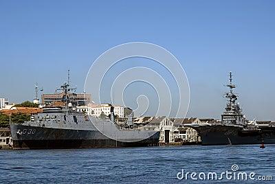 Warships, Rio de Janeiro, Brazil