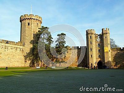 Warwick castle in the UK