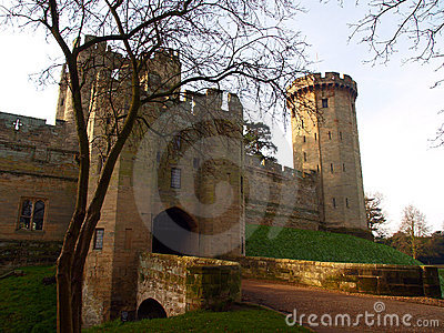 Warwick castle in the UK