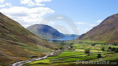 Wasdale head Lake district England