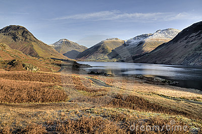 Wasdale Valley in Winter