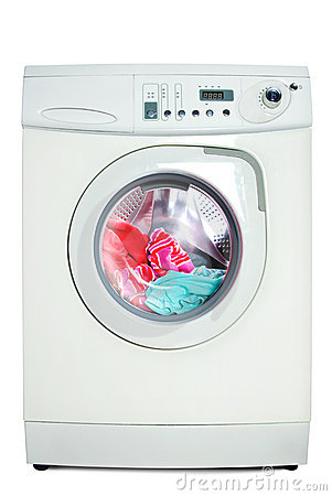 Free Washer. Royalty Free Stock Photo - 13449035