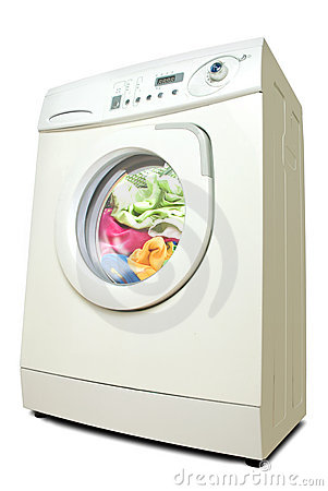 Free Washer. Stock Images - 13573354