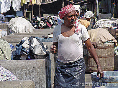 Washermen s Colony Mumbai Editorial Stock Image