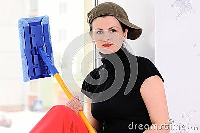 The washerwoman of windows
