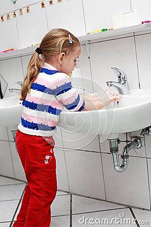 Free Washing Hands Stock Image - 4822901