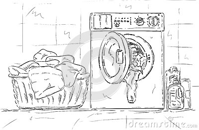Washing machine, clothes