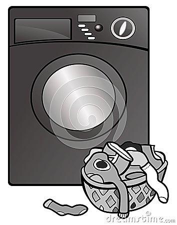 Washing machine grayscale