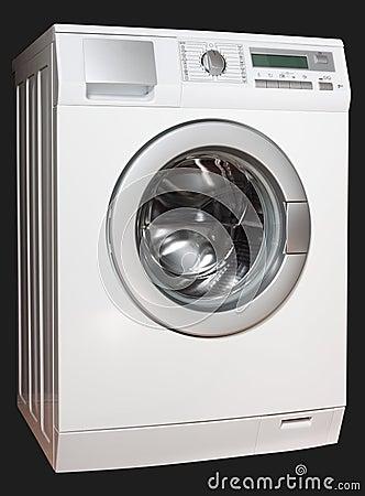 Washing machine from left