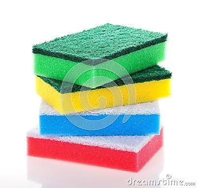 Free Washing Sponge Royalty Free Stock Photography - 16414097