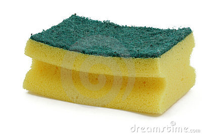 Washing-up sponge