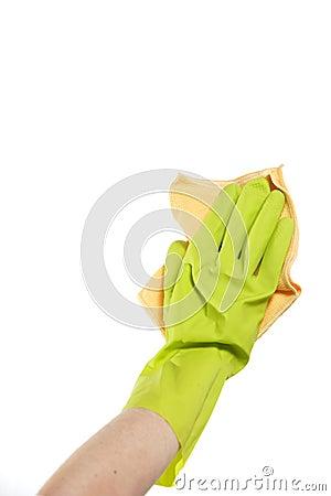Free Washing Window Royalty Free Stock Image - 4827896