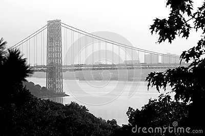 Washington bridge view