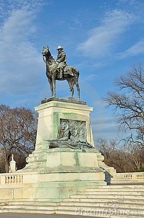 Washington DC - estatua de Ulises S. Grant