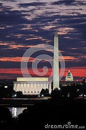 Free Washington DC Skyline Royalty Free Stock Images - 11409189
