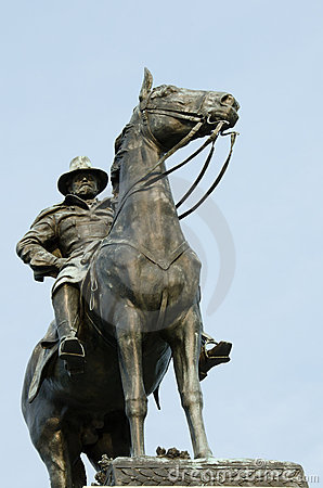 Washington DC - statue d Ulysse S. Grant
