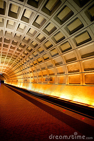 Free Washington DC Subway Royalty Free Stock Photography - 23069817