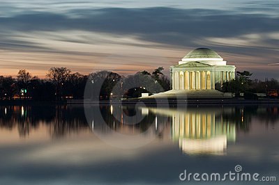Washington DC Thomas Jefferson Monument
