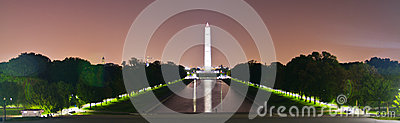 Washington Memorial in Washington DC
