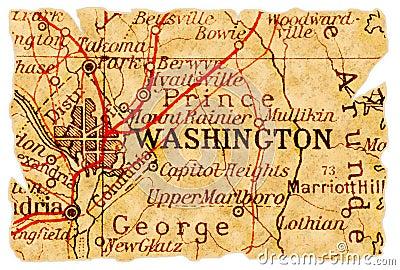 Washington old map