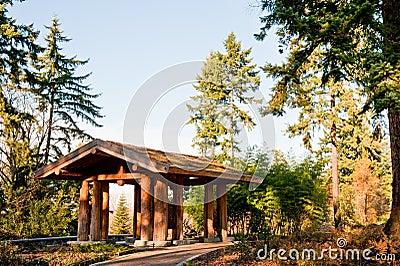 Washington Park Arboretum structure