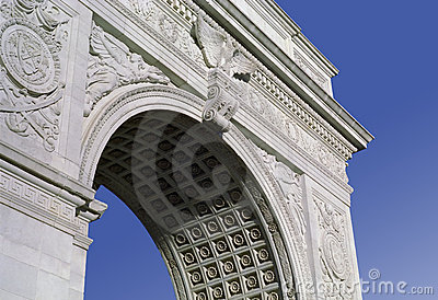 Washington Square Monument New York USA