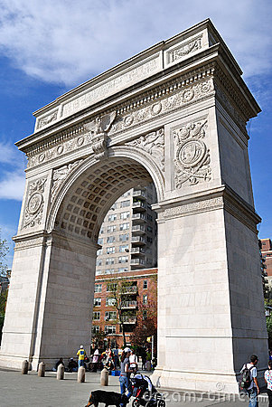 Washington Square Park Editorial Image