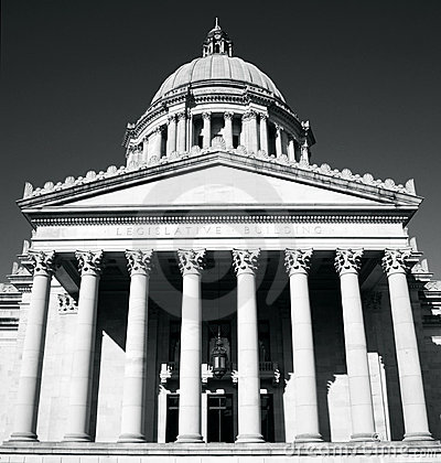 Washington State Capitol. Front
