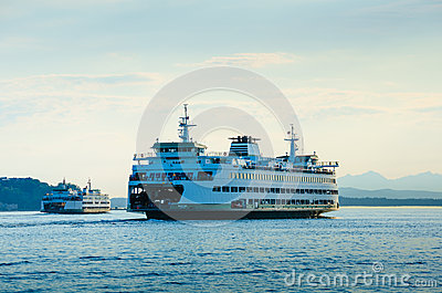 Washington State Ferries Editorial Stock Image